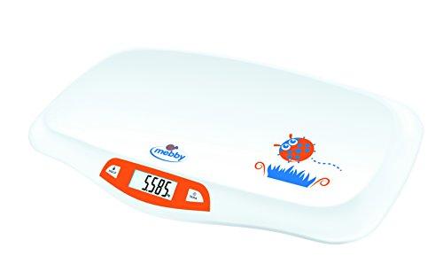 Mebby 95136 Primi Pesi Bilancia Pesa-Neonati con Funzione di Fermo Pesata