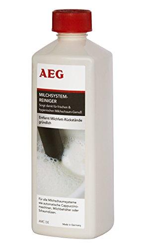 AEG AMC DE Spezial-Reiniger für Milchschaumsysteme, 500 ml, Geeignet für Vollautomaten, Pad- und...