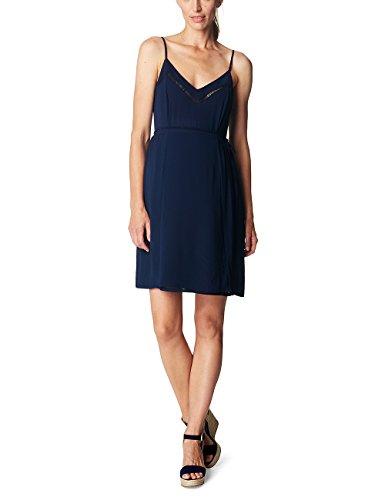 ESPRIT Maternity Damen Umstandskleid R84287, Blau (Night Blue 486), 40