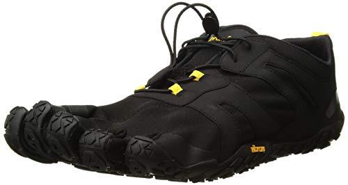 Vibram Fivefingers V 2.0, Scarpe da Trail Running Uomo, Nero Black/Yellow, 41 EU