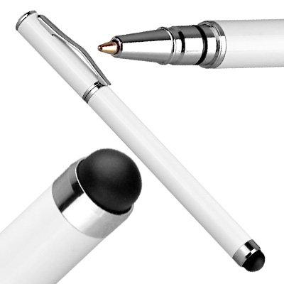 yayago Stylus Pen kapazitiv / Eingabe Stift mit Kuli für Apple iPhone 5 / 5S / 5C / 4 4S / iPad 2 / iPad 3 / 4 / iPad mini / ipod touch 5