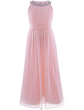CHICTRY Mädchen Kleider Prinzessin Kleid Hochzeit festlich Lange Partykleid Abendkleid Festkleid Blumenmädchenkleid...
