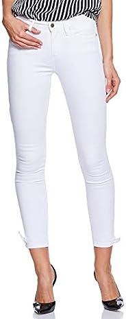 Tommy Hilfiger Women's Ww0Ww22285-White Tommy Hilfiger Skinny Jeans for Women - W