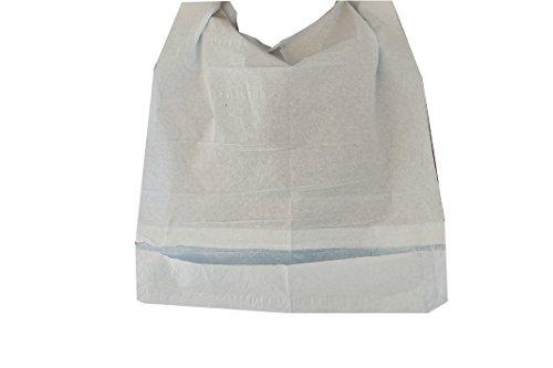 125 Stück Einmal-Esslätzchen für Erwachsene und Kinder mit Auffangtasche Einweg-Lätzchen Schutz-Servietten