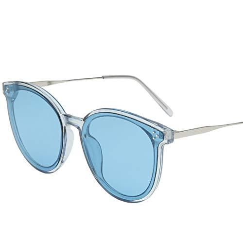 Nalkusxi Bonbonfarbene Sonnenbrillen für Herren Damen Street Fashion Glas Radfahren Laufen Fahren Angeln (Color : F)