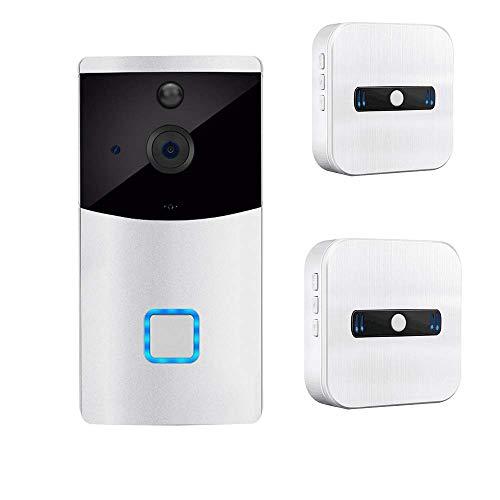Preisvergleich Produktbild Video Türklingel,  PIR Bewegungsmelder Monitor Kamera Gegensprechfunktion