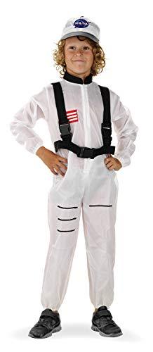 Folat 21882 Astronaut Weltraum-Anzug für Kinder, 116-134 cm, ()