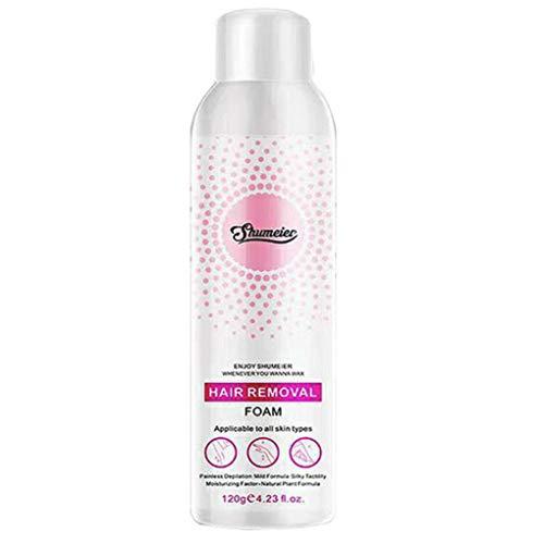 Enthaarungscreme/Dorical Damen Haarentfernungscreme, Hair Removal Cream, Enthaarungsmittel auf Bikini, Unterarm, Brust, Rücken, Beine und Arm für Frauen 120g