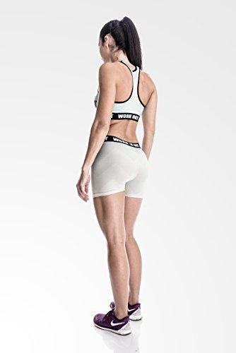 Fringoo - Legging de sport - Femme Multicolore Bigarré Taille Unique ZIG ZAG shorts