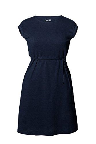 boob-stillkleid-1550-celia-in-lassiger-cotton-slub-webart-midnight-blue-gr-s