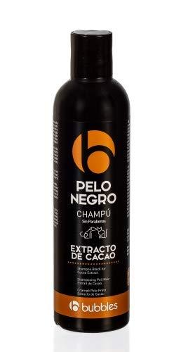 Bubble's Hundeshampoo mit Kakaoextrakt für schwarzes Fell (250 ml) -