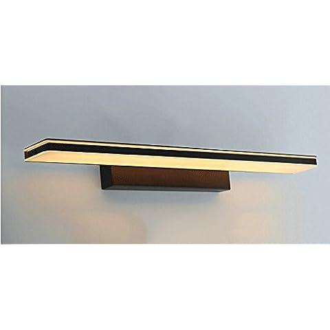 LYNDM  Led luce specchio impermeabile anti-nebbia 10W Bagno lampada