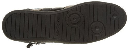 Jim Rickey Carve Mid Z, Sneakers Hautes homme Noir (Snake Black)