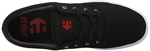Etnies Jameson Herren Skateboardschuhe Black (Black/White/Red978)