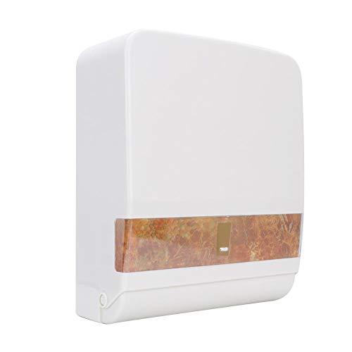 An der Wand befestigter Papierhandtuchspender, wasserdichter ABS-Tissue-Spender-Serviettenhalter-Tissue-Kasten-Halter