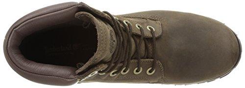 Timberland  EK Rugged WP FTM_EK Rugged 6 in Plain Toe Boot,  Stivali uomo marrone (Braun (Dark Brown))