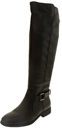 Footwear Studio Elisabeth Faux Cuir Bottes Hautes d'hiver Femmes