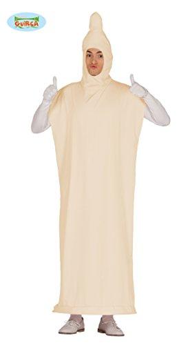 Kondom Kostüm für Erwachsene Präservativ Bräutigam Junggesellenabschied M/L, Größe:L