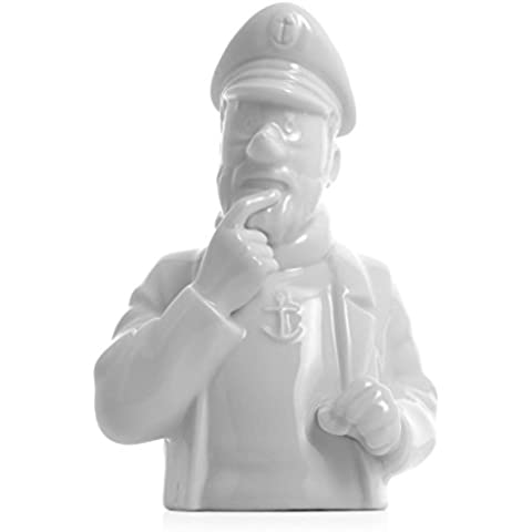 Busto de porcelana Haddock pensativo Moulinsart Brillante 12cm - 44206 (2014)