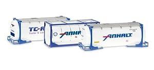 Herpa 076500-004 Anhalt - Juego de recipientes de Combustible (3 x 20 pies)