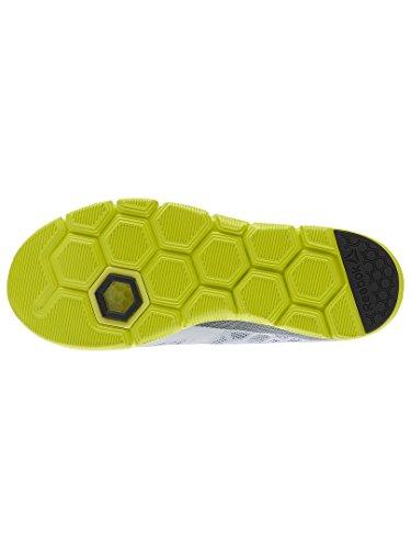 Reebok Hexalite Tr, Chaussures de Gymnastique Homme Gris (Cloud Grey / Asteroid Dust / Hero Yellow / Bla)
