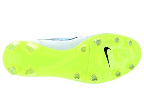 Nike Tiempo Legacy Fg, Scarpe sportive, Uomo Weiß (WHITE/VOLT-LGHT AQ-CLSSC CHRCL)