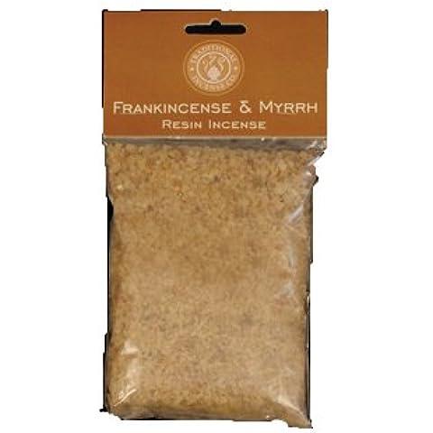 Incenso e Mirra resina incenso 220g/0.5lb Borsa - Resina Pilgrim