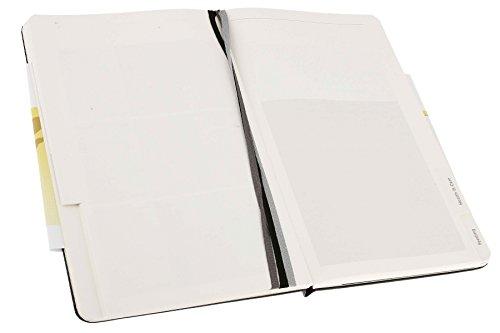Moleskine Passion-Journal Baby Large, Hardcover mit Prägung schwarz