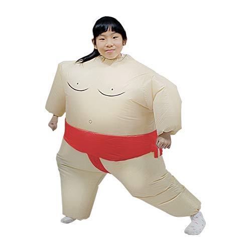 Kostüm Inflatables - Halloween Cosplay Erwachsene Kinder Sumo Inflatables Show Weihnachten Karneval Eltern-Kind-Performance Party Kostüme Balight