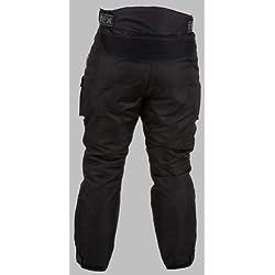 Pantalones de motorista con protector - Impermeables - Negro - Todas las tallas - W34 L34
