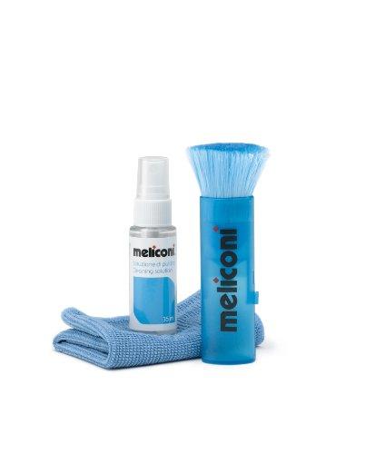 Meliconi C35P - Soluzione Detergente 35 ml + Panno Microfibra 20 x 20 cm + Pennello