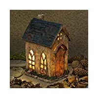Garden Glows Fairy Dwelling - THE HOME OF CORNELIUS WASP - Fairy House - for indoor outdoor use - with 3 solar powered LEDs