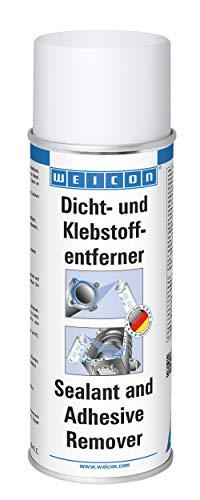 WEICON Dicht- und Klebstoffentferner 400ml Spray entfernt Klebstoff Lack Farbe Harz Öl Fett von Holz Metall Glas
