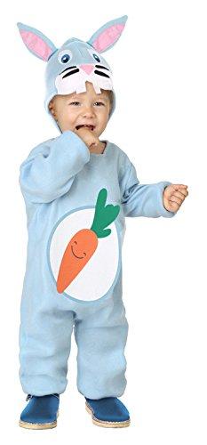 Imagen de disfraz de conejo con zanahoria para bebé