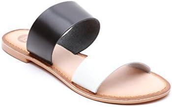 Gioseppo - Sandalias de vestir de Piel para mujer Negro blanco / negro taglia unica