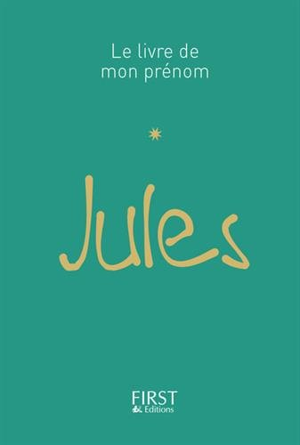 Le Livre de mon prénom - Jules