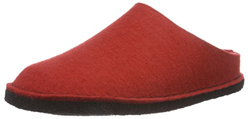 Haflinger Soft, Chaussons mixte adulte Rot (Rubin)