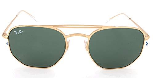 Ray-Ban Unisex-Erwachsene Mod. 3609 Sonnenbrille, Gold, 54