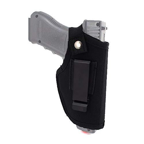 Muzboo Waffenholster Pistolen Tactical Rechts Links verdeckt passt M&P Shield 9mm, 40, 45 Auto/Glock 26, 27, 29, 30, 39, 28, 33, 36 und 43 / Ruger LC9, Gun Concealed Carry IWB - Verdeckte Holster Ruger Lc9