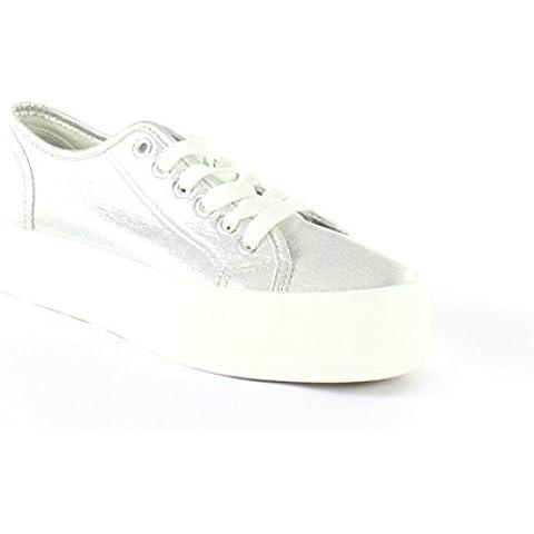 Calzado de mujer de la marca Vives Shoes para mujer de color gris modelo 18-500 :: VivesOnline - zapateria