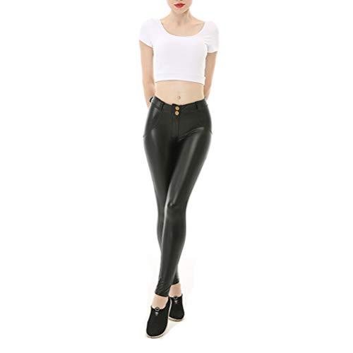 Pantalones Mujer Slim Lápiz Delgado Cintura Baja