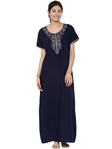 Sanddune Women 4081 Navy Blue Bizzy-Lizzy Nightwear (Pack Of 1)