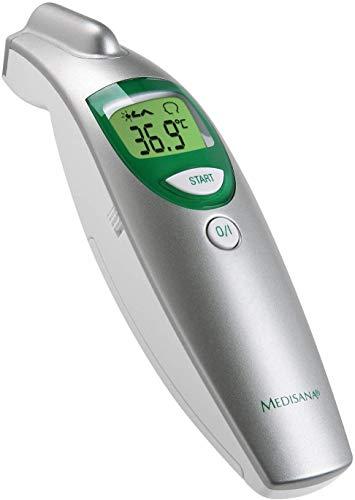 Medisana FTN Termómetro clínico digital 6 en 1 para bebés, niños y adultos, oral, axilar o rectal...