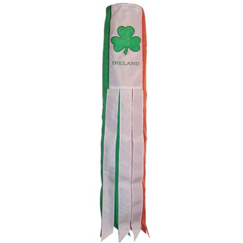 Irlande Manche à Air télescopique pour drapeau poteaux. Caravane et Camping-car utilisation. Manche à Air Irlandais