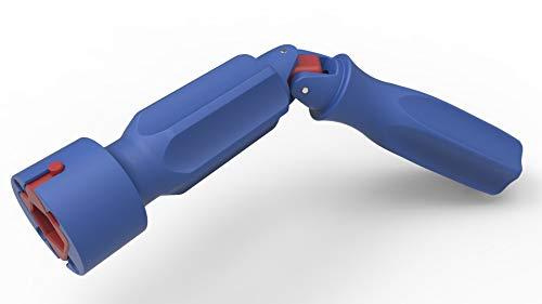 WC-Sitz-Montageschlüssel, Montageschlüssel mit Gelenk, Montage WC-Sitz | Flügelmutter und Schraubenköpfe, Kunststoff, Ø 3,5 cmx 19,5 cm