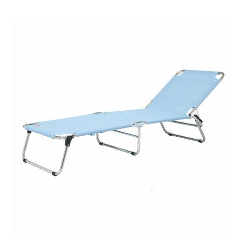 Jan kurtz chaise longue trois pieds en aluminium bleu océan fiam amigo chaise longue certifiée tüv