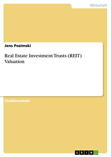 Real Estate Investment Trusts (REIT) Valuation