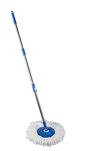 Gala Spin Mop Handle with Refill, White