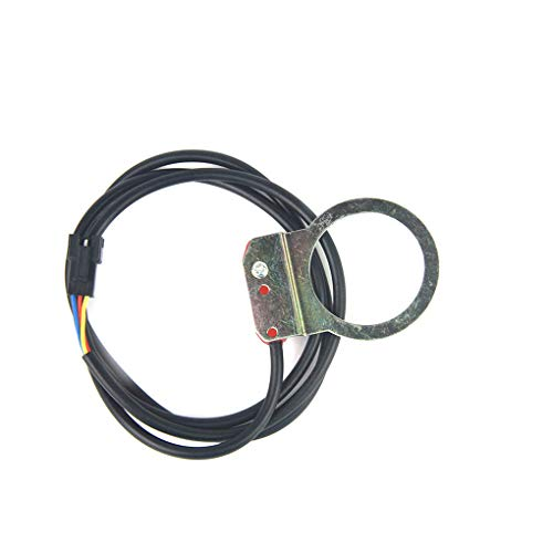 Cdrox Elektro-Fahrrad-Roller-Pedal-Assistent Sensor Booster Inductor Ebike Umwandlungs-Kit 5 Magnet (Roller Klemmen Blau)