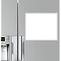 LifeKrafts Magnetic White Board Sheet - Dry, Erase. Can Be Stuck On Refrigerator Or Any Metal Surface, Good Gift for Diwali or Any Occasion, Pack of 1